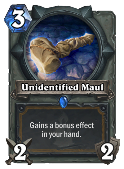 unidentified-maul