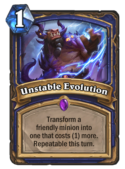 unstable-evolution