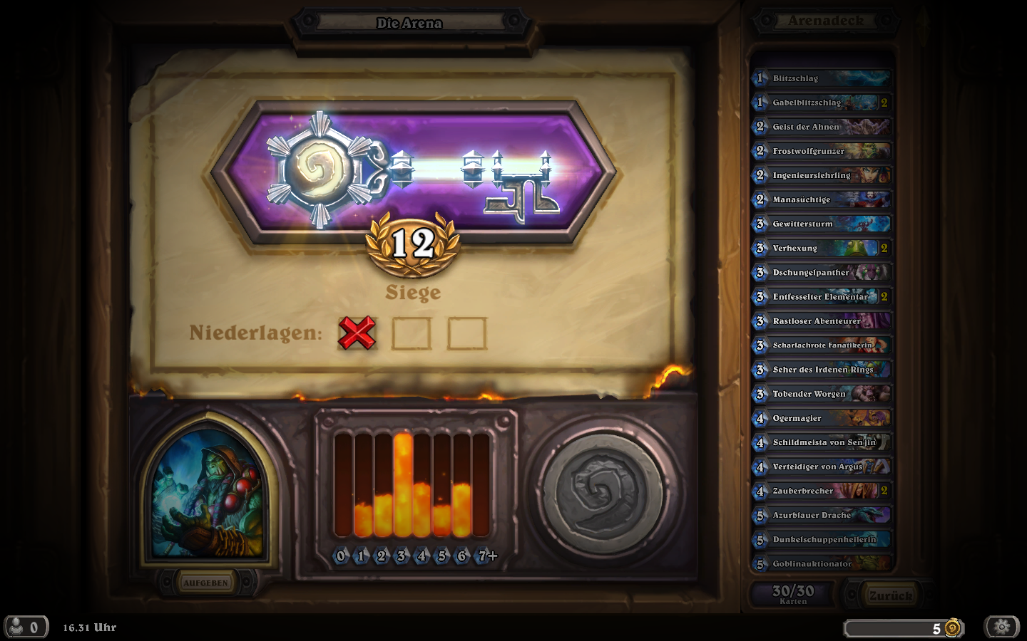 hearthstone arena how to get 12 wins