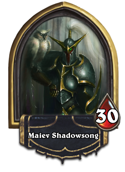 hearthstone maiev shadowsong how to get