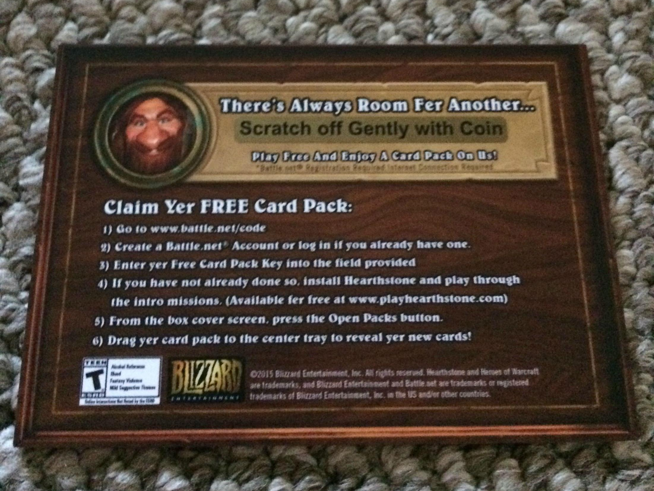 Hearthstone September Loot Crate Items - Free Card Pack! - News ...