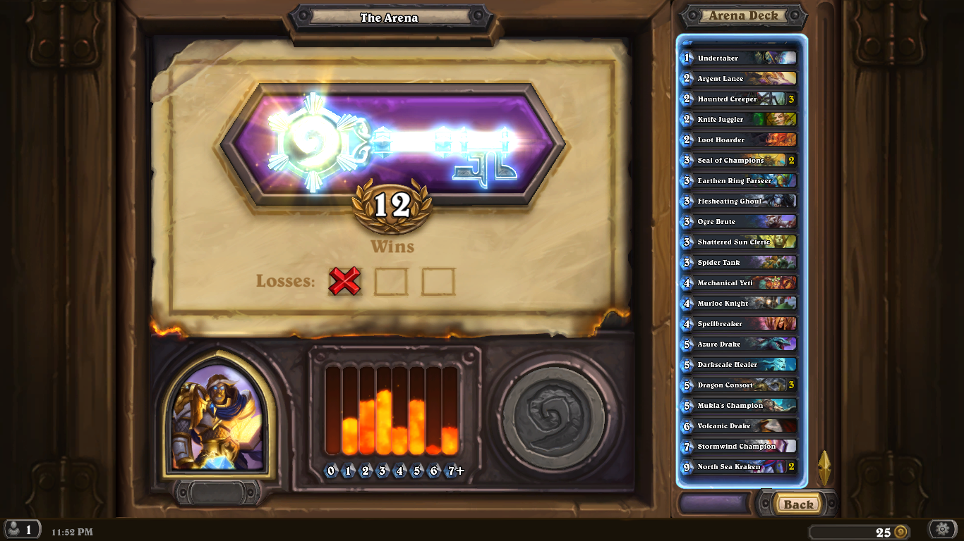 how to make a deck in arena hearthstone