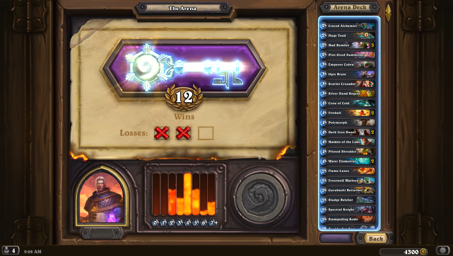 hearthstone how to build an arena deck