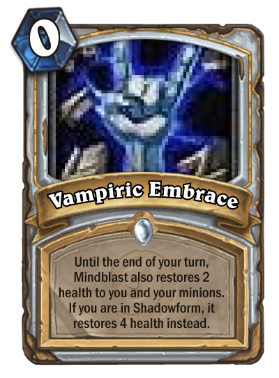 Design challenge, priest cards that only work/benefit from being ...