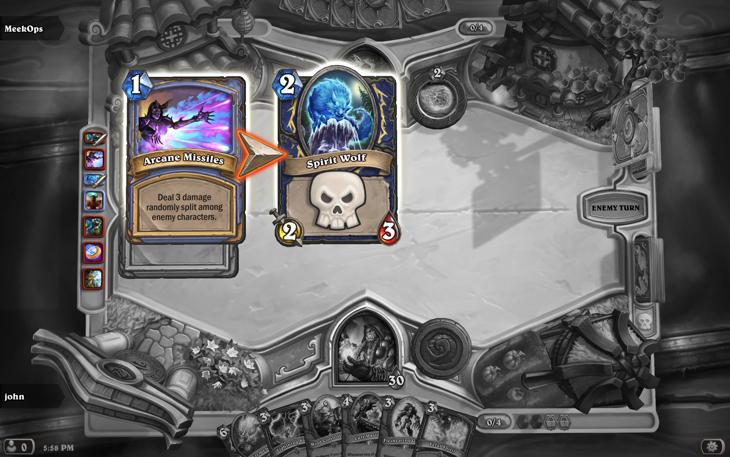 Arena Bad Beats The Arena Hearthstone Game Modes