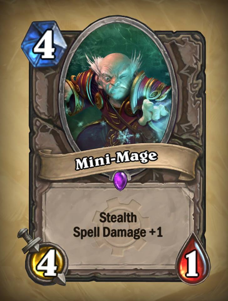 new card minimage card discussion hearthstone