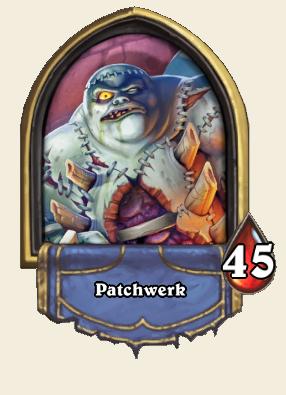 Patchwerk hearthstone deck guides