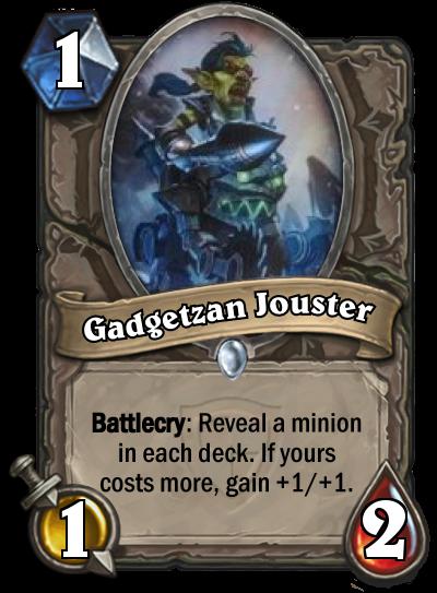 Gadgetzan Jouster