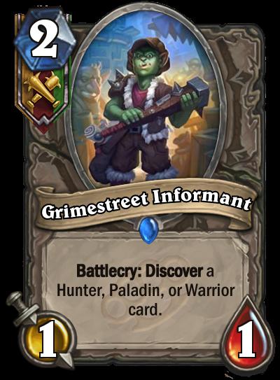 Grimestreet Informant