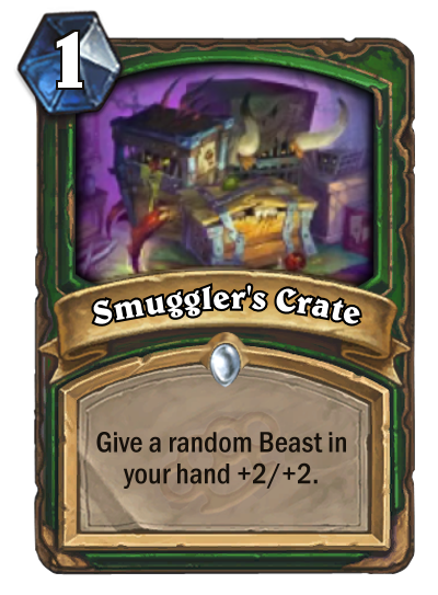 Smuggler's crate