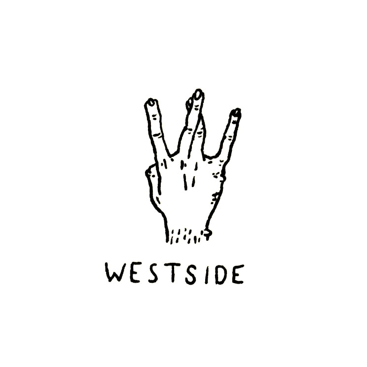 West Side Hand Sign Drawing West Coast Hand Gestur...