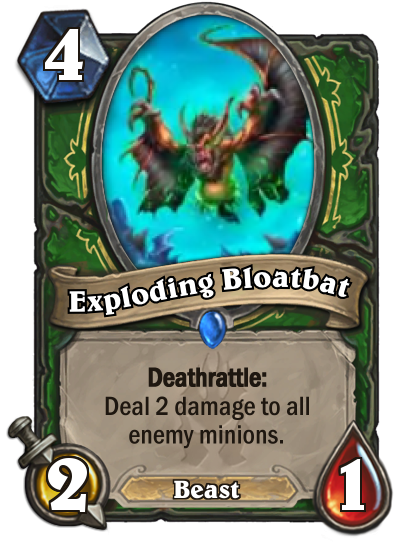 Exploding Bloodbat