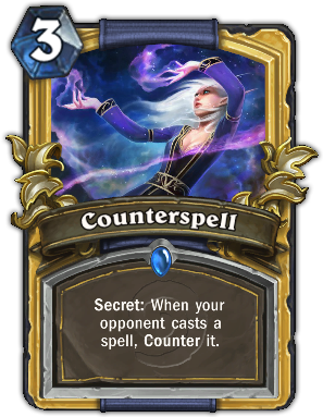hearthstone how to get counterspell