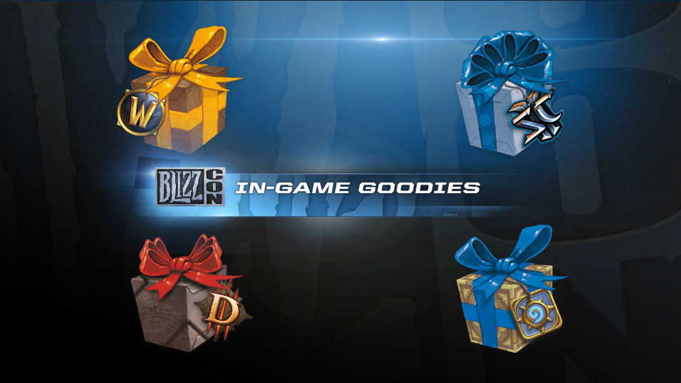 30+ Blizzcon In Game Goodies  Pics