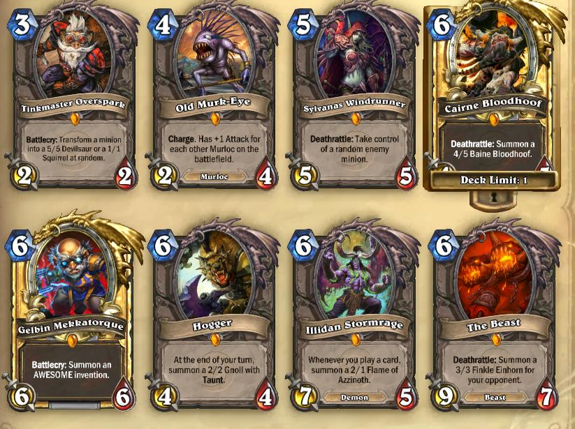 how to build warlock deck