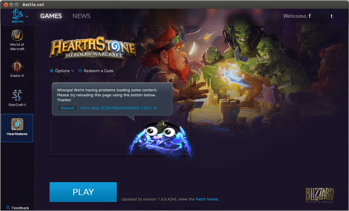How Do I Change Battlenet Account And Options Under Wine General
