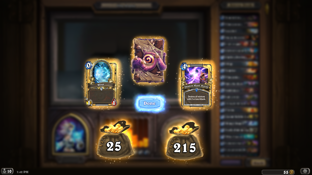 Best arena prizes hearthstone forums