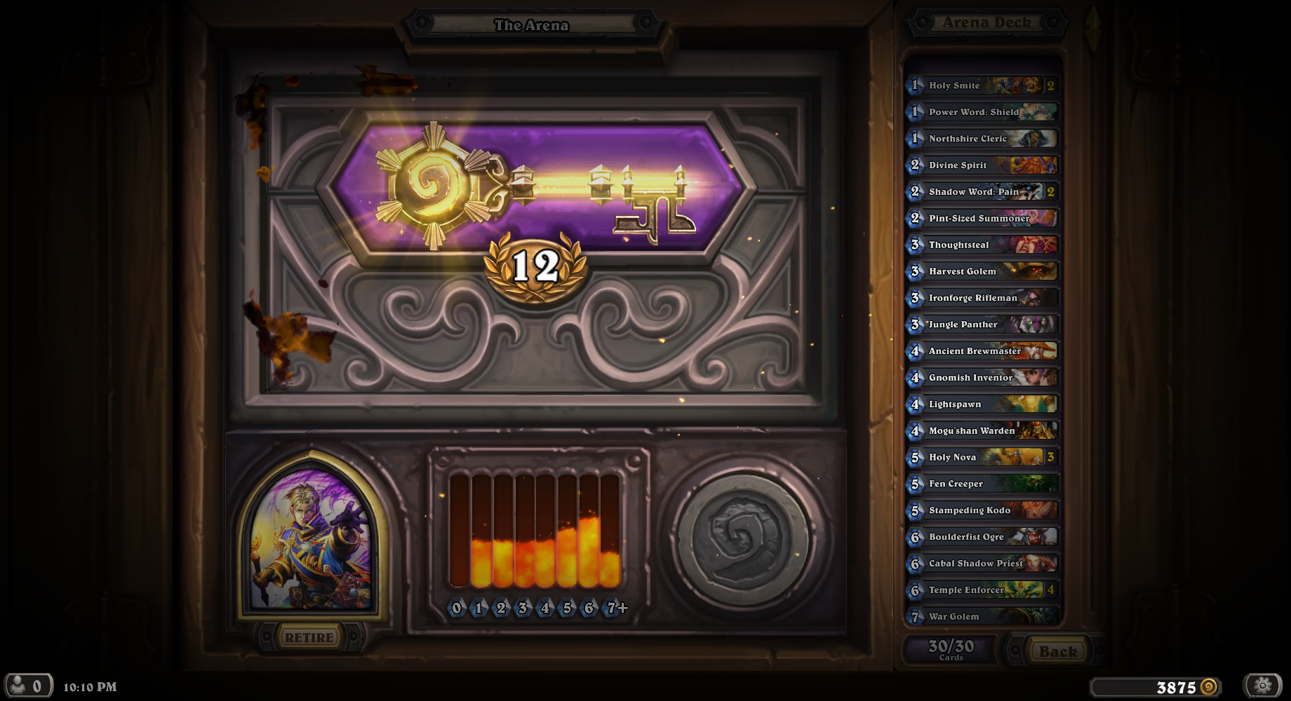 how to win arena games hearthstone