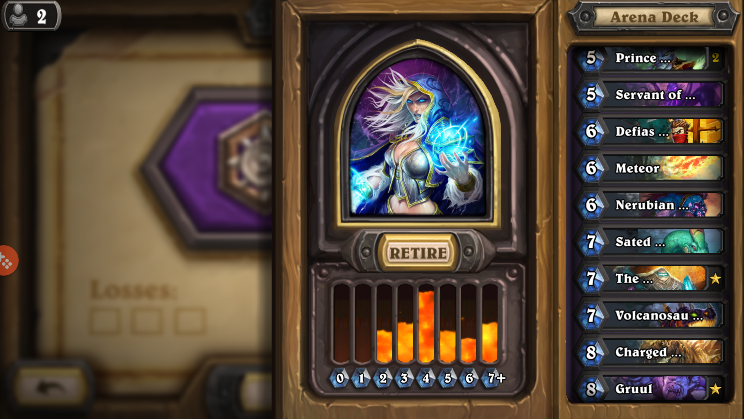 14 legendaries in an arena deck the arena hearthstone game modes
