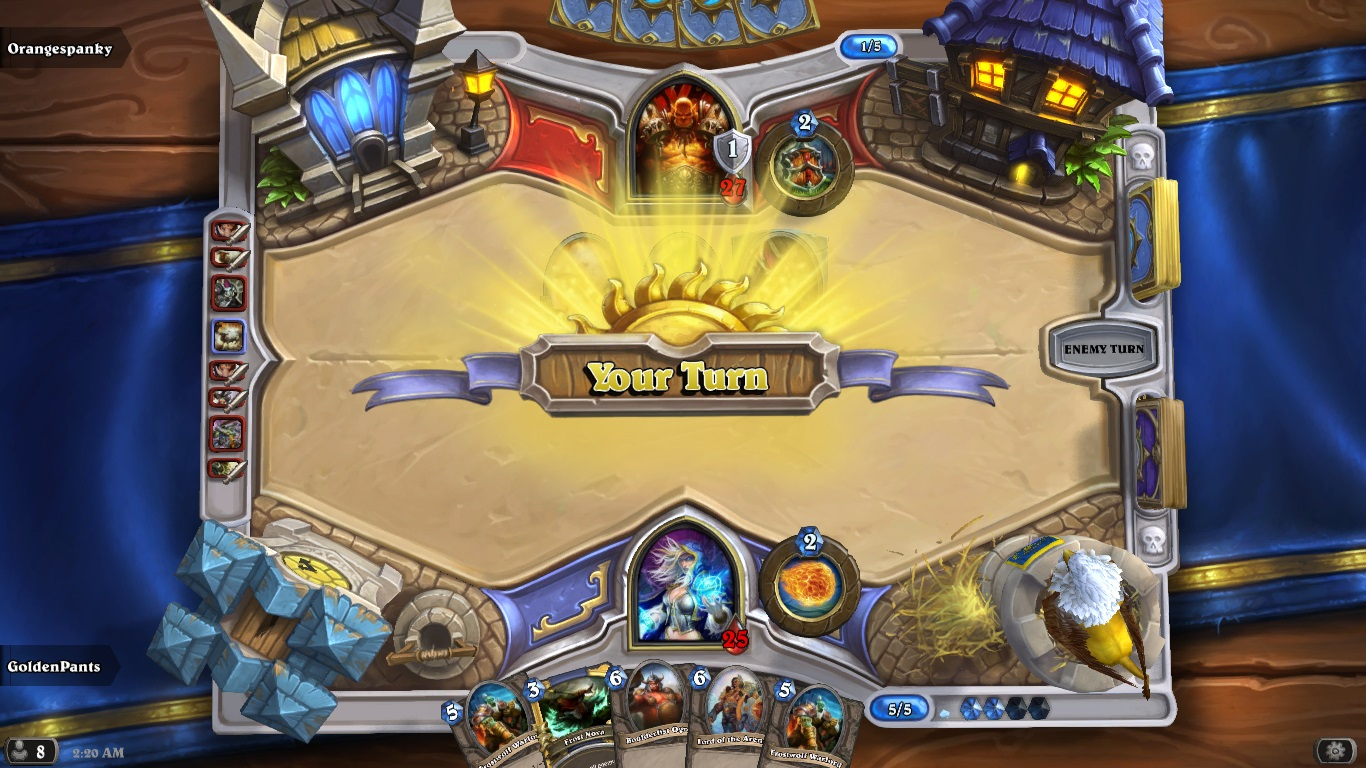 Here are both Hearthstone Game Freezes - General Discussion