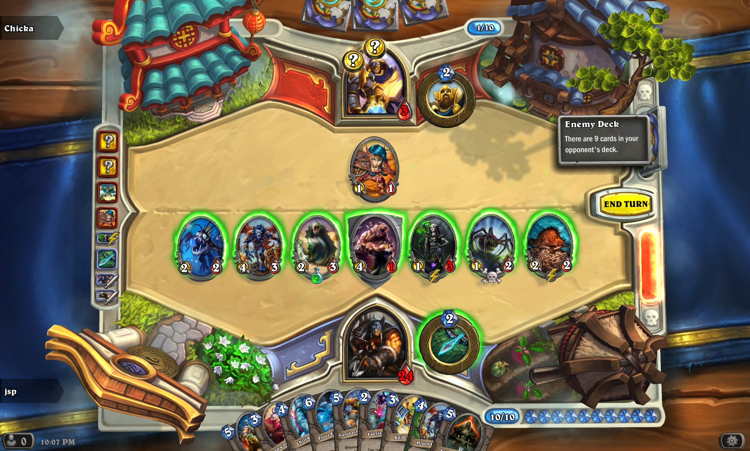 Hearthstone: Heroes of Warcraft game