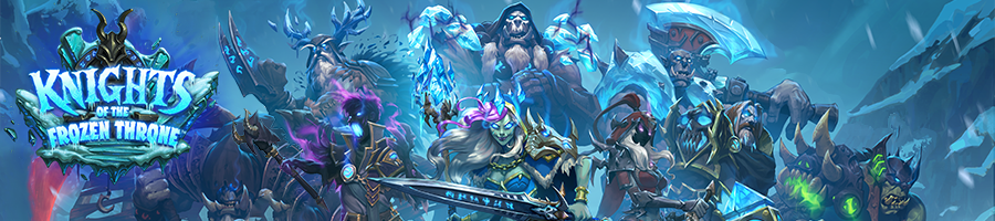 Knights of the Frozen Throne Banner