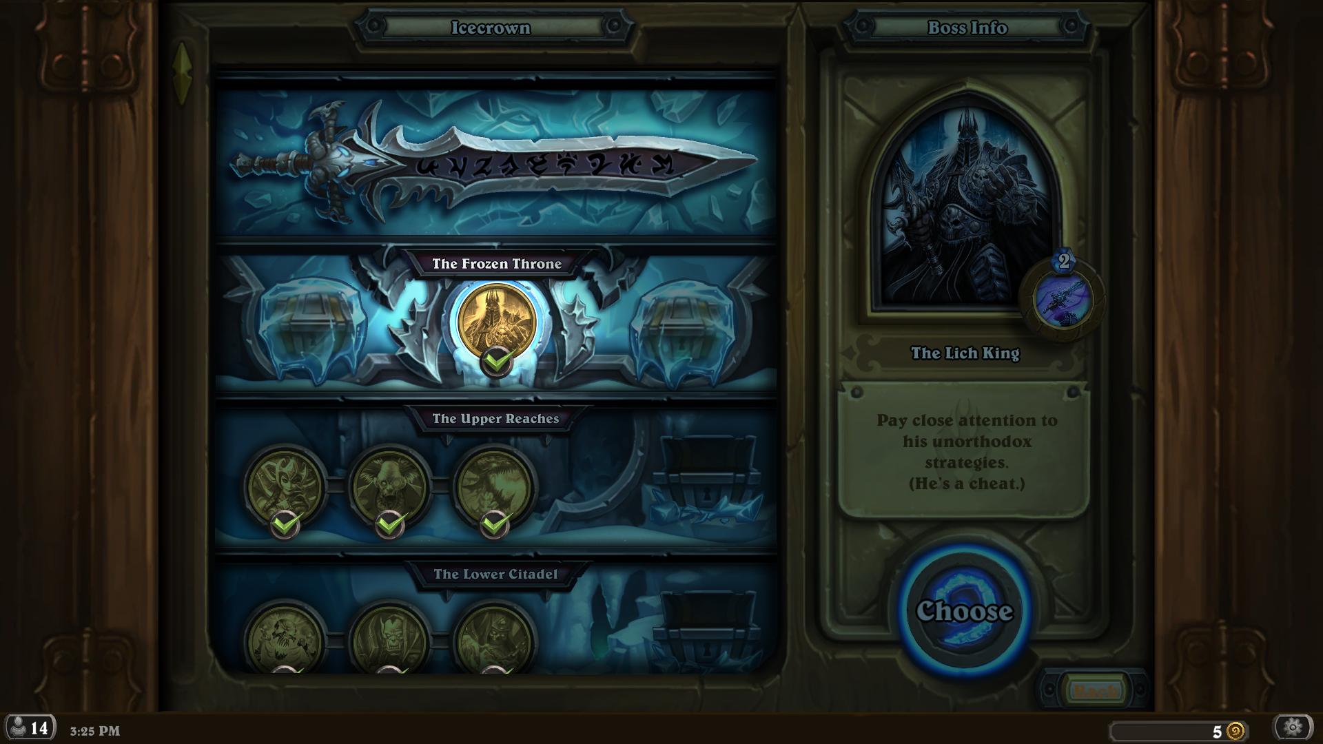 The Lich King Boss Guide The Frozen Throne Frozen