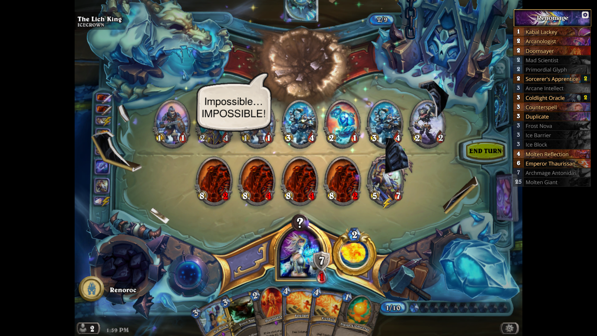 how to get the lich king hearthstone