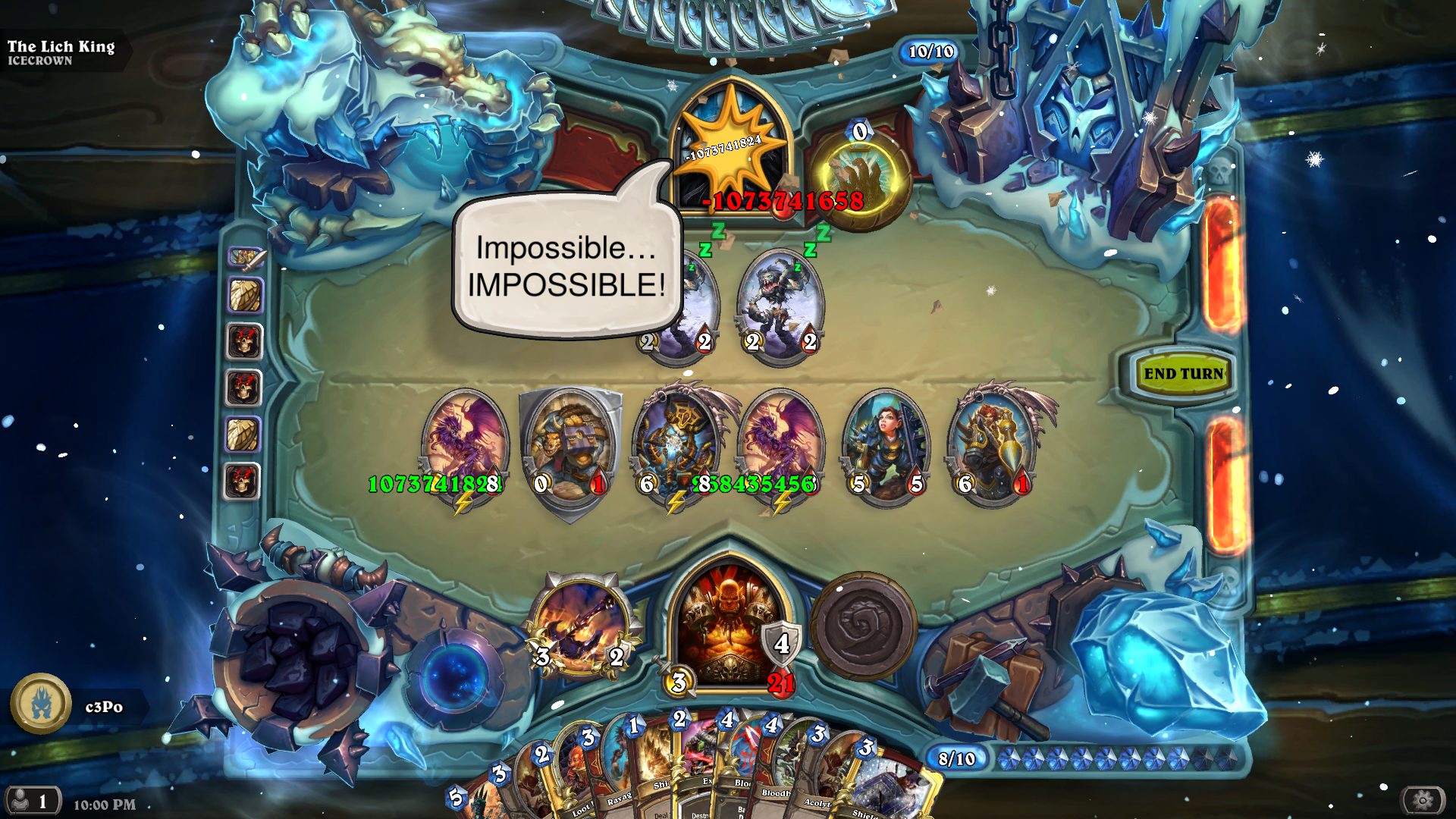 how to get lich king hearthstone