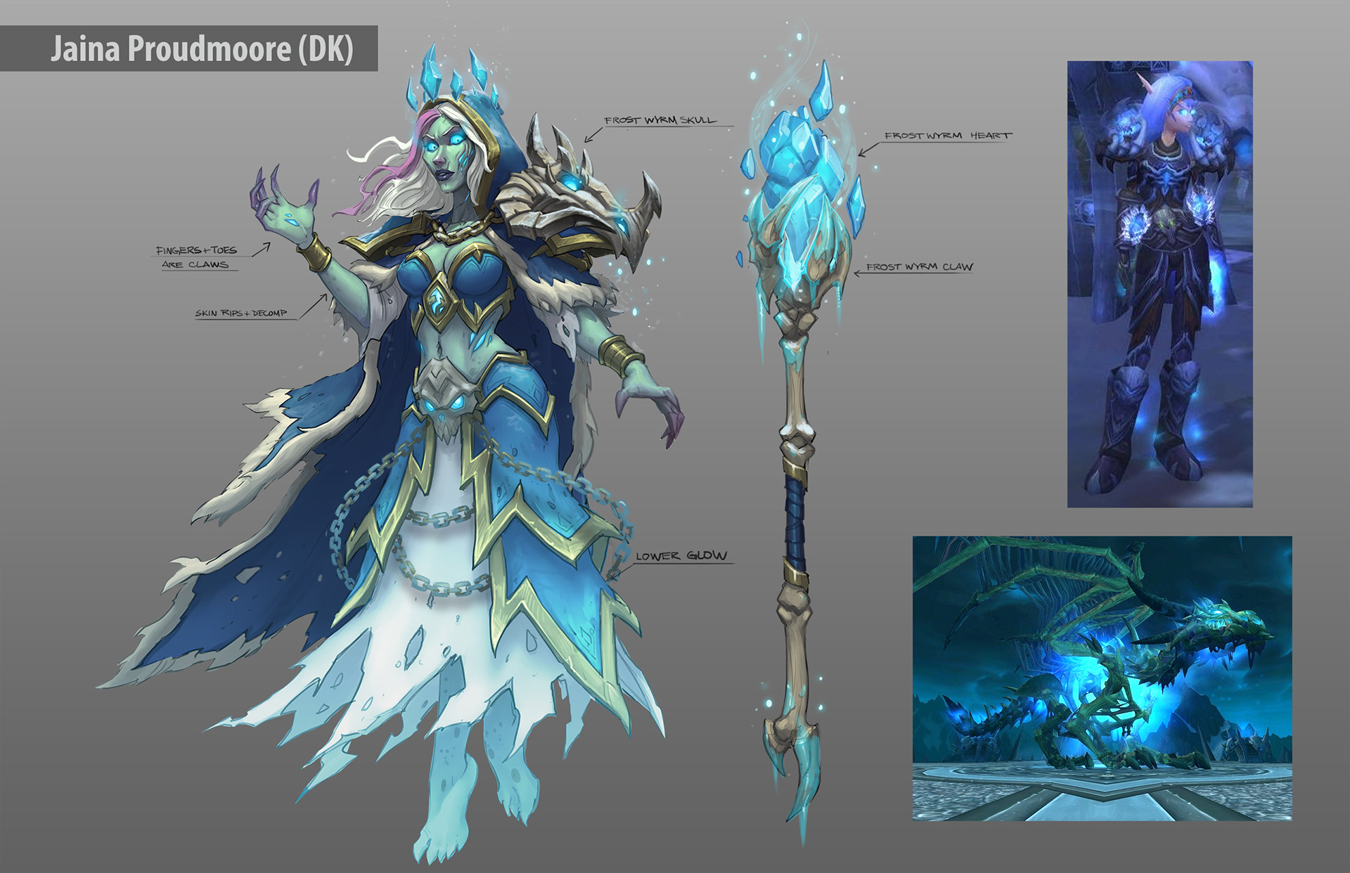 Blizzard S Original Ideas For Hearthstone S Death Knights