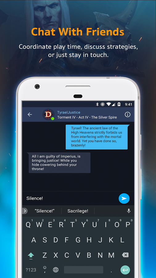 Blizzard Battle net Chat Application Now Available on