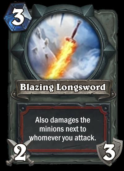 Blazing Longsword