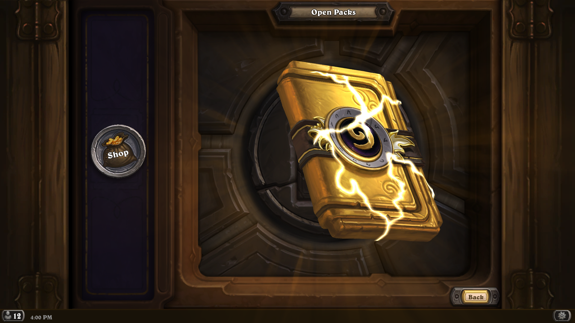 golden classic card pack