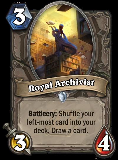 Royal Archivist