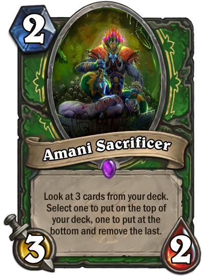 Amani Sacrificer