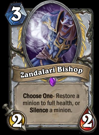 Zandalari Bishop