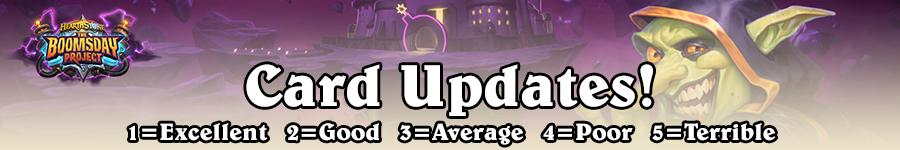 Card Updates