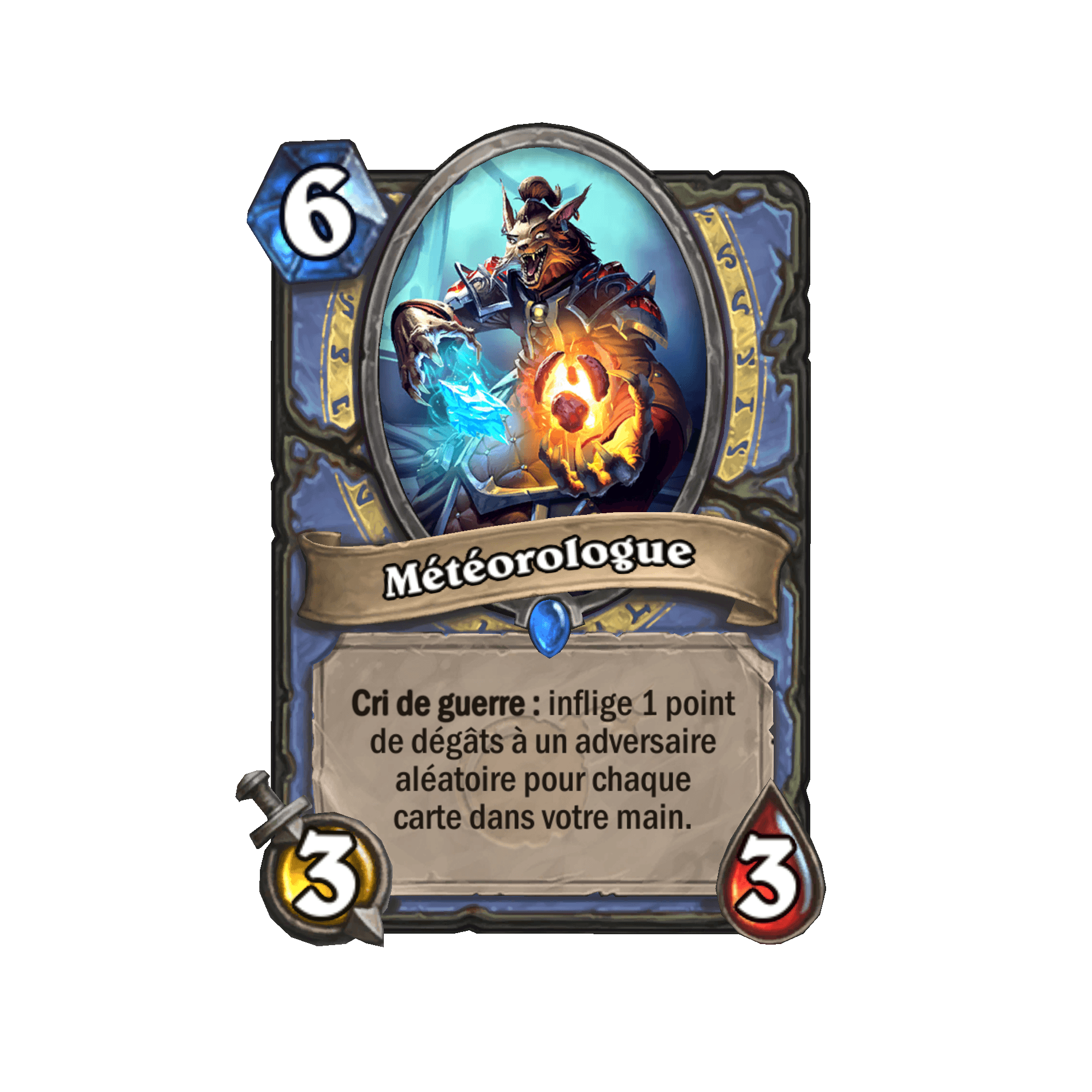 Carte Hearthstone.New Mage Minion Meteorologist Card Discussion