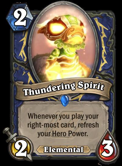 Thundering Spirit