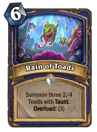 Toad Rain