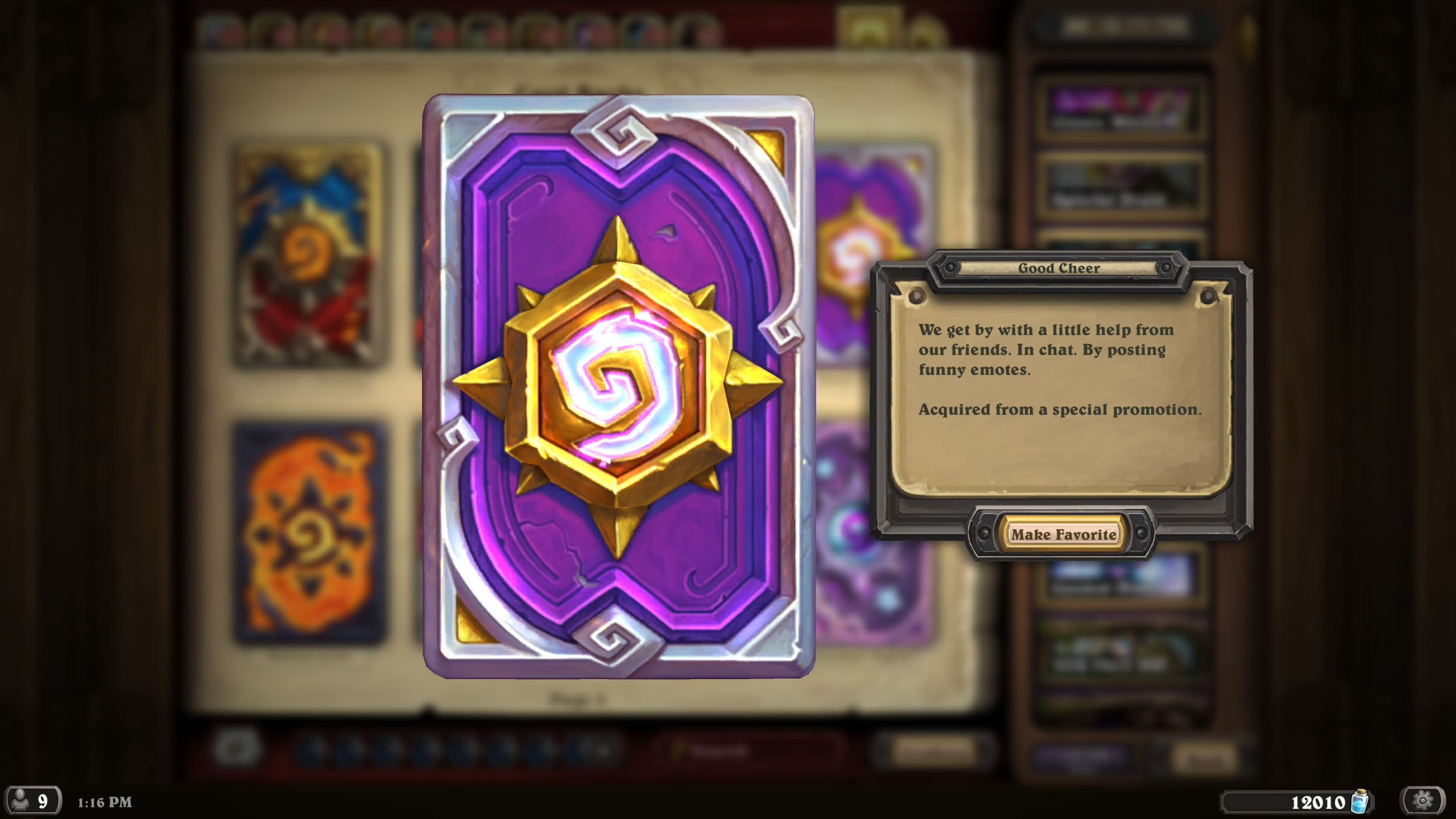 Hearthstone Patch - New Classic Cards, Free Packs