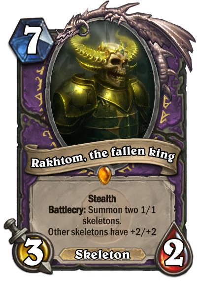 Rakhtom, the fallen king