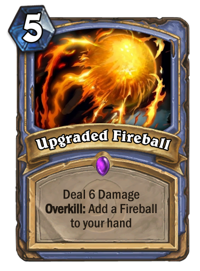 Upgraded Fireball
