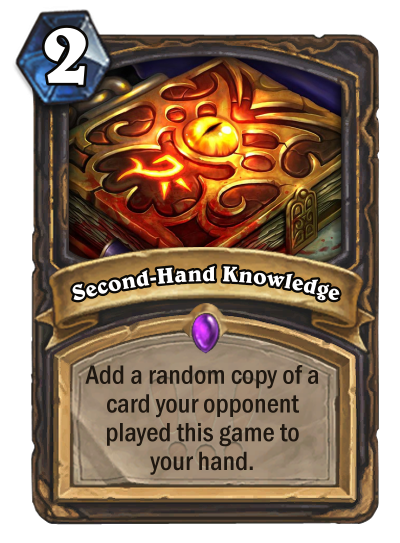 Second-Hand Knowledge