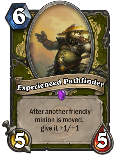 experienced pathfinder