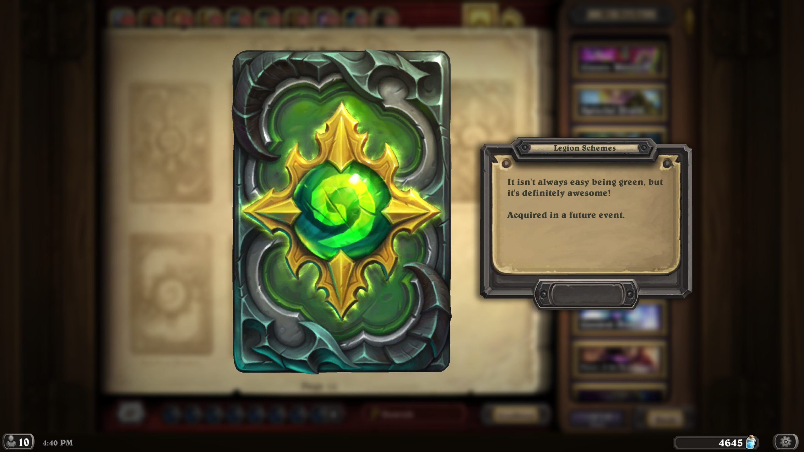 Hearthstone Patch - Card Nerfs, Lunar New Year Event, Card Backs