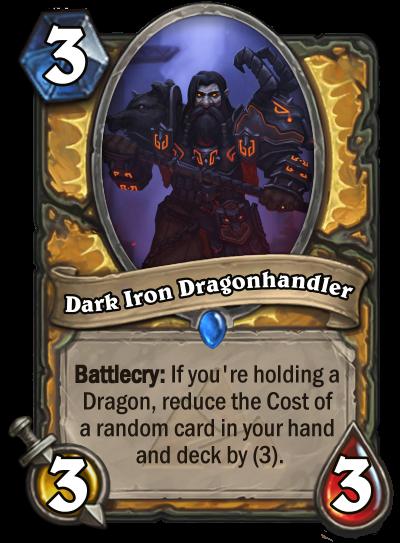 Dark Iron Dragonhandler (for Hearthpwn WCDC 9.5)
