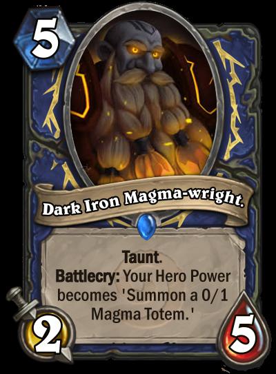 Dark Iron Magma-wright