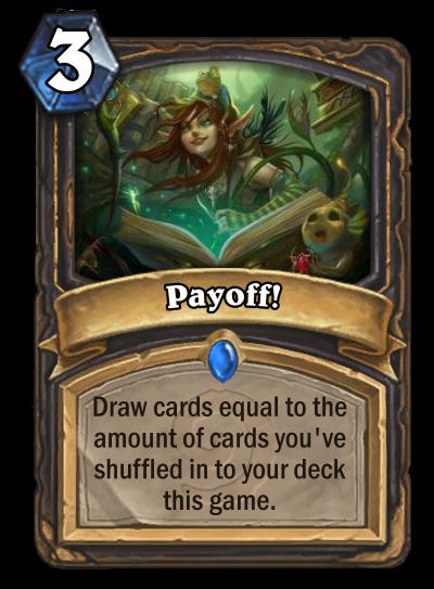 Payoff!