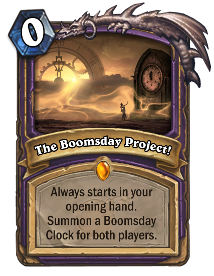 The Boomsday Project!